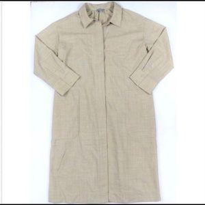 COS Camel Minimalist Shirt Dress